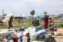 ALACAK VERECEK MESELESİ - Mersin'de Gerginliğin Yaşandığı Mahalledeki Suriyeliler Tahliye Edildi