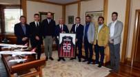 GÜNDOĞAN - Nesine.Com Eskişehir Basket'ten Rektör Gündoğan'a Nezaket Ziyareti