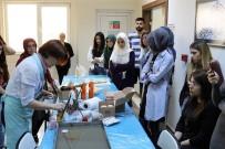 ÇIÇEKLI - SAÜ'de 'Ebru Workshop' Etkinliği Düzenlendi
