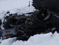 Tunceli'deki helikopter kazasından ilk görüntüler