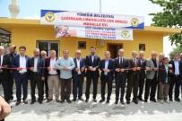 FUTBOL SAHASI - Yüreğir'de Spor Kompleksi Ve Taziye Evi Açılışı