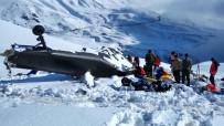 HELIKOPTER - 12 Şehit Verilen Helikopterin Enkazı Yol Açılınca Kaldırılacak