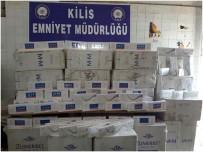 ÖNCÜPINAR - 18 Bin 500 Paket Kaçak Sigara Ele Geçirildi