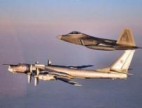 SAVUNMA BAKANLIĞI - ABD jetlerinden Rus bombardıman uçaklarına önleme