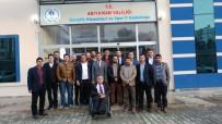 KÜLTÜR SANAT - Adeks-Der'den Müdür Keleş'e Ziyaret