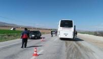 Afyonkarahisar'da Trafik Kazası Açıklaması 19 Yaralı