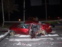 ÇOLAKLı - Antalya'da Trafik Kazası Açıklaması 1 Ölü, 4 Yaralı