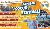 ATATÜRK İLKOKULU - Bozüyük Belediyesi 5. 23 Nisan Çocuk Festivali Başlıyor