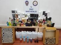 ALKOLLÜ İÇKİ - Denizli'de Kaçak Akaryakıt Ve Parfüm Operasyonu Açıklaması 5 Gözaltı