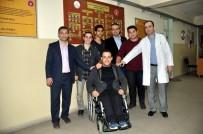 BEDENSEL ENGELLİ - Engelli Arkadaşları 'Umut' İçin Proje Yaptılar