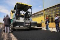 Karaman Belediyesi Sanayi Sitesini Asfaltlıyor