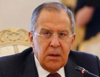 PROVOKASYON - Lavrov'dan Suriye açıklaması