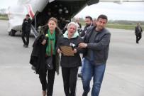 TÜRK YILDIZLARI - Şehit Hakim Samsun'da Törenle Karşılandı