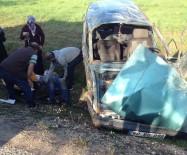 Tokat'ta Otomobil Takla Attı Açıklaması 6 Yaralı