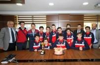 BASKETBOL KULÜBÜ - TREDAŞ Spor Basketbol Kulübü'nden Bilgili'ye Ziyaret