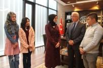 KAYSERI TICARET ODASı - Üniversite Öğrencilerinden KTO Başkanı Hiçyılmaz'a Ziyaret