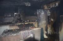 Ünye'de Ev Yangını