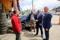 DAVUT GÜL - Vali Gül Ve Belediye Başkanı Aydın Sanayi Esnafını Ziyaret Etti