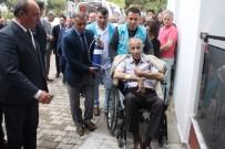 HAYIRSEVER İŞ ADAMI - Yaptırdığı Sağlık Merkezinin Açılışına Ambulansla Getirildi