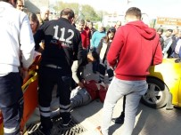 MOTOSİKLET SÜRÜCÜSÜ - Yeni Aldığı Motosikletle Kaza Yaptı