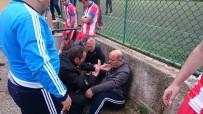 Amatör Maçta Olay Açıklaması Antrenör Darp Edildi