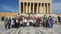 MUSTAFA TUNA - Bahçesaraylı 72 Öğrenci Ankara Ve Çanakkale'ye Gitti