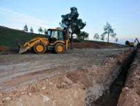 KANSEROJEN MADDE - Ceylanpınar'da Asbestli Boruların Değişimine Başlandı