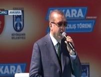 FAŞIST - Cumhurbaşkanı Erdoğan: Yine ters köşe oldular