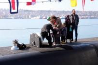 DENİZ YILDIZI - Savaş Gemisi Ve Denizaltıya Vatandaşlardan Yoğun İlgi