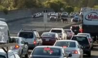 SAN FRANCISCO - Yol 1 Saat Kapalı Kaldı