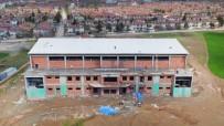 15 Temmuz Şehitleri Spor Salonunun Kaba İnşası Tamamlandı