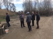 Adilcevaz'da Yol Yapım Çalışması