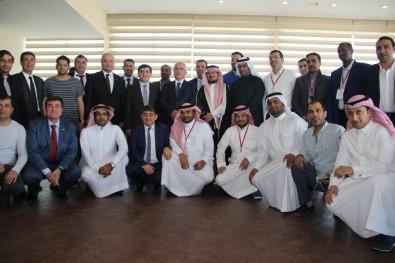 Arap iş adamları Şanlıurfa'da yatırım için incelemelerde bulundu