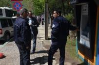 BURSA DEVLET HASTANESI - Banka ATM'sinde Düzenek İddiası Polisi Alarma Geçirdi
