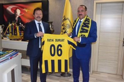 Başkan Fatih Duruay'dan Ankaragücü'ne tam destek!