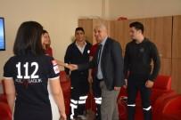 SANAYİ SİTESİ - Başkan Toyran'dan 112 Acil Servis İstasyonu'na Sürpriz Ziyaret
