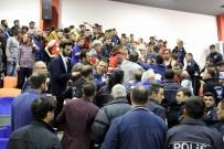 Canik Belediyespor-Beşiktaş Maçında Gerginlik