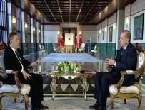 ANGELA MERKEL - Cumhurbaşkanı Erdoğan, El-Cezire'ye konuştu