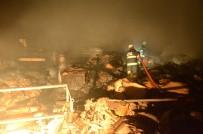 FABRIKA - Eskişehir'de Fabrika Yangını