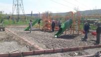 Gövük Mahallesinde Çocuklar İçin Yaptırılan Oyun Parkı Hizmete Girdi