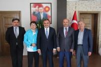 MEHMET YAVUZ - Halterci  Yavuz Başkan Cabbar'ı Ziyaret Etti