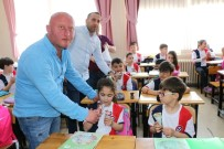 İlkokul Öğrencilerinden Zonguldak Kömürspor'a Forma Desteği