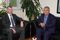 EKREM ÇALıK - İngiltere Büyükelçisi Moore'dan Kaymakam Çalık'a Ziyaret