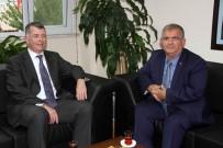 EKREM ÇALıK - İngiltere Büyükelçisi Richard Moore'dan Kaymakam Çalık'a Ziyaret