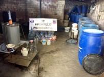 İMALATHANE - Manisa'da Kaçak İçki Operasyonu