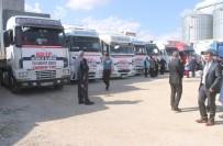 ŞAKIR ÖNER ÖZTÜRK - Mardin'den Suriye'ye 21 Tır Un