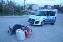 KıBRıS - Motosiklet Hırsızı Kovalamaca Sonucu Yakalandı