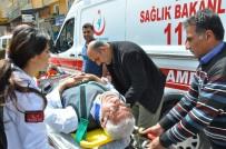 MOTOSİKLET SÜRÜCÜSÜ - Otomobille Motosiklet Çarpıştı Açıklaması 1 Yaralı