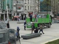 TAKSIM - Taksim'de 1 Mayıs önlemleri