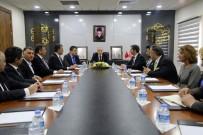 RHEIN-NECKAR Türk İşverenler Derneği'nden Vali Kamçı'ya Ziyaret